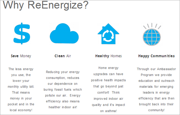 Why ReEnergize?