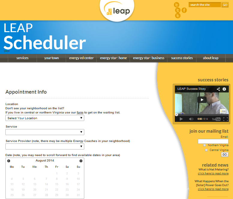 LEAP Scheduler