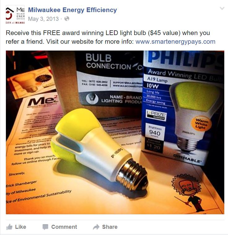 Milwaukee Energy Efficiency